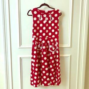 Mini Mouse polka dot dress. Cute for Halloween